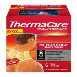 Thermacare - Fascia Autoriscaldanti Collo Spalle Polso Confezione 6 Fasce