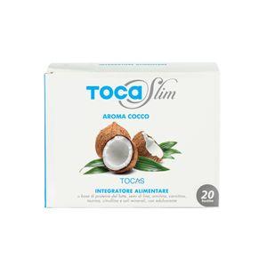 Tocas - Tocaslim Gusto Cocco Confezione 20 Bustine Da 19 Gr
