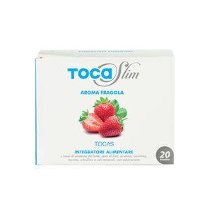 Tocas - Tocaslim Gusto Fragola Confezione 20 Bustine Da 19 Gr