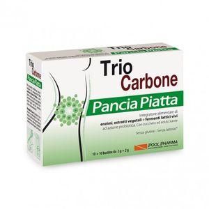 Trio Carbone - Pancia Piatta Confezione 10 +10 Bustine
