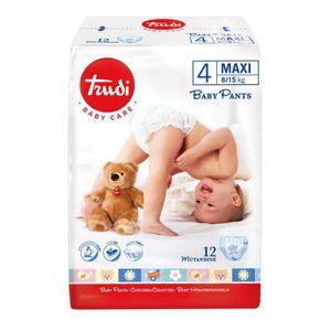 Trudi - Baby Care Pants Maxi 8/15 Kg Taglia 4 Confezione 12 Mutandine