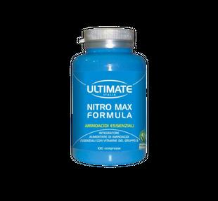 Ultimate - Nitro Max Formula Confezione 100 Compresse (Scadenza Prodotto 28/06/2021)