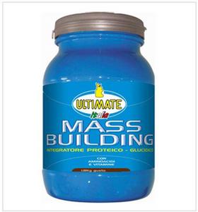 Ultimate - Sport Mass Building Nocciola Confezione 1.8 Kg (Scadenza Prodotto 28/03/2021)