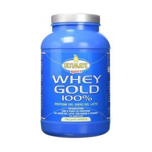 Ultimate - Whey Gold 100% Vaniglia Confezione 750 Gr