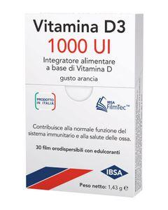 Vitamina D3 - 1000 UI Confezione 30 Film Orodispersibili