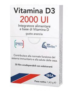 Vitamina D3 - 2000 UI Confezione 30 Film Orodispersibili