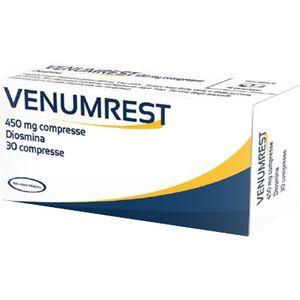 Venumrest - Diosmina 450 Mg Confezione 30 Compresse