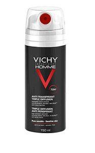 Vichy - Homme Deodorante Spray 72H Confezione 150 Ml