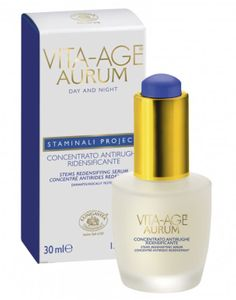 Bottega Di LungaVita - Vita Age Aurum Cellule Staminali Siero Antirughe Confezione 30 Ml