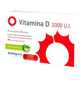 Vitamina D - 2000 U.I. Confezione 84 Compresse Masticabili