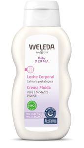 Weleda - Baby Derma Crema Fluida Malva Bianca Confezione 200 Ml (Scadenza Prodotto 28/01/2022)
