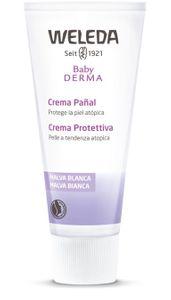 Weleda - Baby Derma Crema Protettiva Malva Bianca Confezione 50 Ml