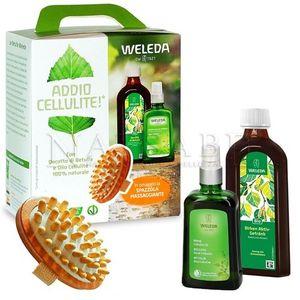 Weleda - Bipack Betulla Decotto + Olio + Spazzola Massaggiante Confezione 3 Pezzi