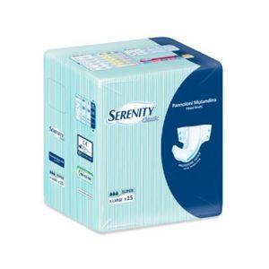 Serenity - Pannoloni Classic Super Taglia XL Confezione 15 Pezzi