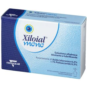 Xiloial - Mono Gocce Oculari Confezione 20 Flaconcini Monodose
