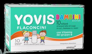 Yovis - Bambini Gusto Fragola Confezione 10 Flaconcini