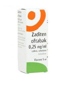 Zaditen Oftabak - Collirio Confezione 5 Ml
