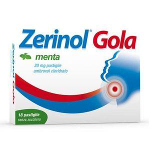 Zerinol - Gola Menta 20 Mg Confezione 18 Pastiglie