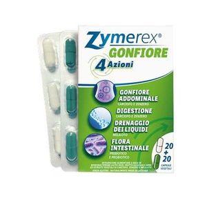Zymerex - Gonfiore Confezione 40 Capsule
