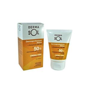 Dermasol - Crema Viso Spf 50+ Confezione 50 Ml