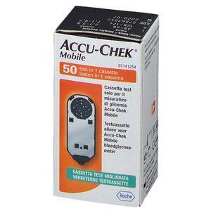 Accu-Chek - Cassetta Test Mobile Confezione 50 Test