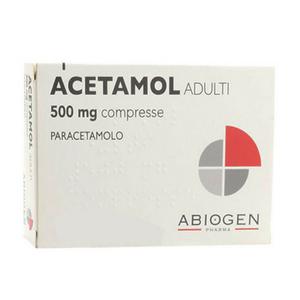 Acetamol - Adulti Confezione Confezione 20 Compresse 500 Mg