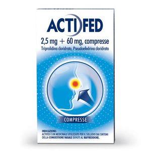 Actifed - Confezione 12 Compresse