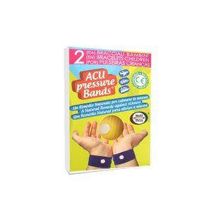 Acu Pressure Band - Bracciale Adulti Confezione 2 Pezzi