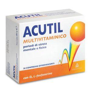 Acutil - Multivitaminico Confezione 20 Compresse Effervescenti