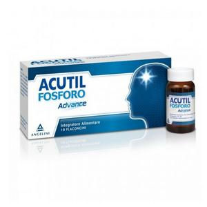 Acutil - Fosforo Advance Confezione 10 Flaconcini