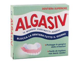 Algasiv - Adesivo Protezione Superiore Confezione 15 Pezzi + 3 Cuscinetti Omaggio