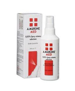 Amukine - Med Spray Cutaneo 0.05% Confezione 200 Ml