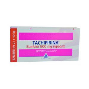 Tachipirina - Bambini 500 Mg Tra 21 e 40 Kg Confezione 10 Supposte
