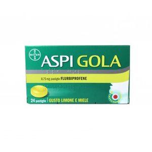 Aspi Gola - Gusto Limone e Miele Confezione 24 Pastiglie (Scadenza Prodotto 30/11/2021)