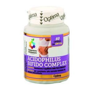 Optima naturals - Colours Of Life Acidophilus Bifido Complex Folico Confezione 60 Compresse