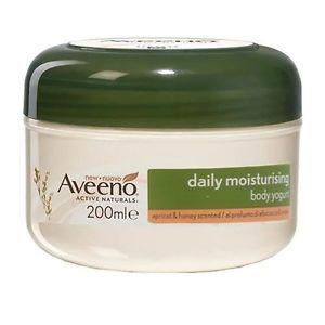 Aveeno - Crema Corpo Yogurt Albicocca e Miele Confezione 200 Ml