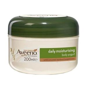 Aveeno - Crema Corpo Yogurt Vaniglia e Avena Confezione 200 Ml