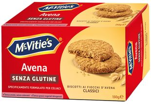Mc Vitie's - Biscotti Avena Classici Senza Glutine Confezione 150 Gr