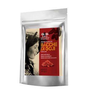 Salugea - Bacche Di Goji Tibetane Naturali Al 100% Confezione 500 Gr