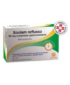 Xoolam - Reflusso 20 Mg Confezione 12 Compresse