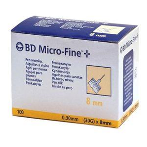 Bd - Ago Penna Per Insulina 31 Gr 5 Mm Confezione 100 Pezzi (Confezione Danneggiata)