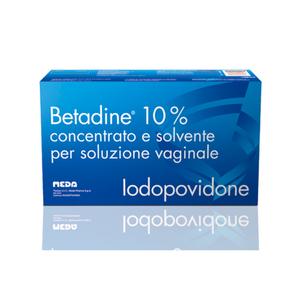 Betadine - Soluzione Vaginale Confezione 5 Flaconi (Confezione Danneggiata)