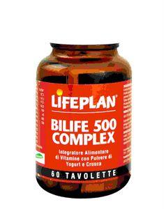 Lifeplan - Bilife 500 Complex Confezione 60 Tavolette (Scadenza Prodotto 31/10/2020)