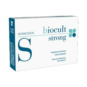 Homeosyn - Biocult Strong Confezione 10 Bustine