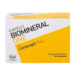 Biomineral - One Lactocapil Plus 30 Compresse
