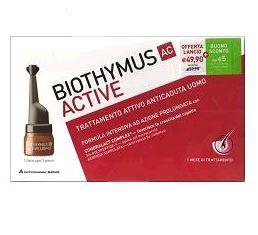 Biothymus - Ac Active Uomo Trattamento Anticaduta Confezione 10 Fiale
