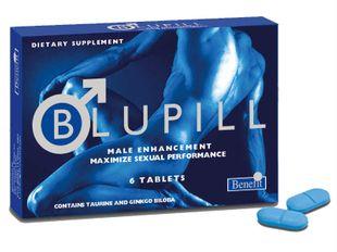 Blupill - Integratore Utile Per Migliorare Le Prestazioni Fisiche Maschili Confezione 6 Compresse