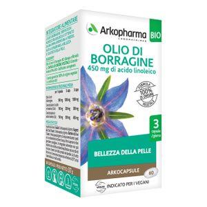 Arkopharma - Arkocapsule Olio Borragine Bio Confezione 60 Capsule
