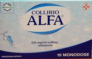 Alfa - Collirio Confezione 10 Monodose
