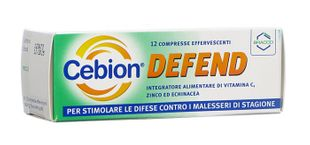 Cebion - Defend Confezione 12 Compresse Effervescenti